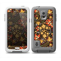 The Colorful Floral Pattern with Strawberries Skin for the Samsung Galaxy S5 frē LifeProof Case