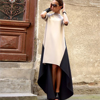 HOT IRREGULAR LONG DRESS