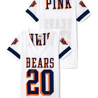 Chicago Bears Sporty Athletic V-neck Jersey - PINK - Victoria's Secret