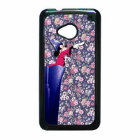 Mickey Mouse The Wizard Floral Vintage HTC One M7 Case
