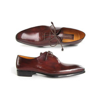 Paul Parkman Men's Oxford Dress Shoes Brown&Bordeaux