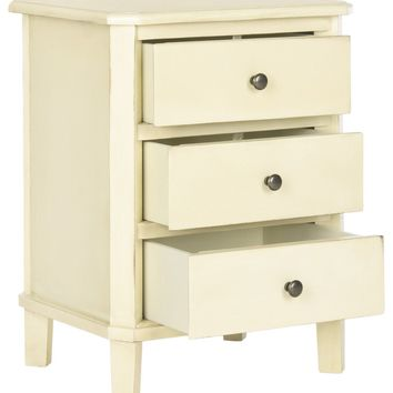 Joe End Table With Storage Drawers Barley
