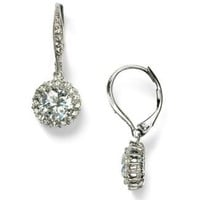 Nadri Round Frame Cubic Zirconia Leverback Earrings - Ceremony - The Wedding Shop - LOOKBOOKS - Fashion Index - Bloomingdale's