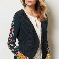Anthropologie - Stitched Flora Cardigan