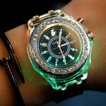 Light Up Silicone Watch
