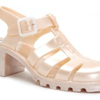 NUDE JuJu Babe 80s Jelly Sandals at Mr Shoes UK
