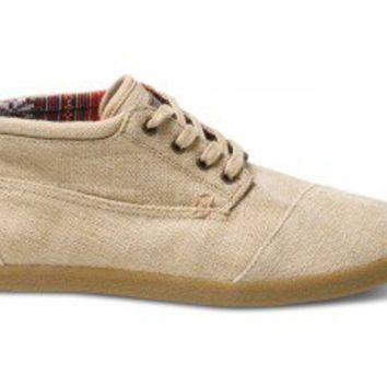 Highlands Burlap Men's Botas | TOMS.com