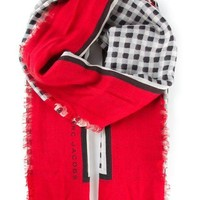 Marc Jacobs Houndstooth Print Scarf