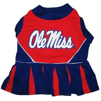 Mississippi Ole Miss Cheer Leading XS