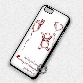 Winnie the Pooh - iPhone 7 Plus 6 SE Cases & Covers