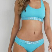 Calvin Klein Women Sport Gym Bikini Set Swimsuit Swimwear