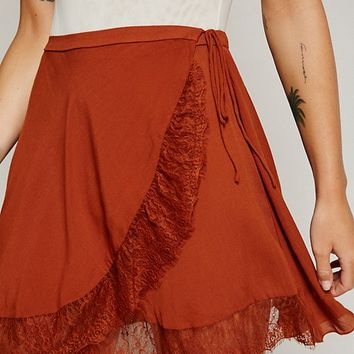 Free People Softly Sweetly Half Slip