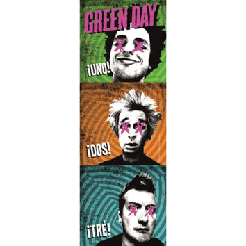 Green Day - Door Flag
