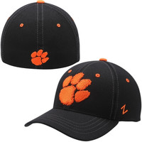 Clemson Tigers Zephyr Paw Logo Element Flex Hat – Black