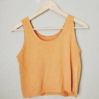 Tangerine Cropped Top