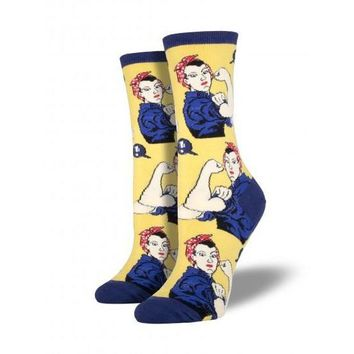 Rosie The Riveter -- Socks