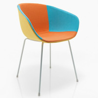 Maya.C.UP Chair Fully Upholstered by Softline Allkit