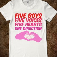 Five Boys One Direction