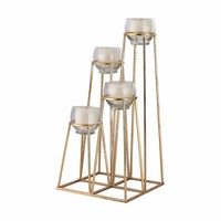 Skyline Cupped Tea Light Holder