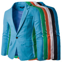 Modern Slim Fit Single Button Blazer