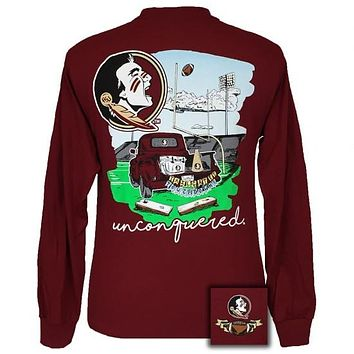 Florida State Seminoles Tailgates & Touchdowns Party Long Sleeve T-Shirt