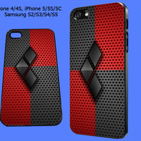 Harley Quinn iPhone Case, iPhone 5 Case, iPhone 4/4S, iPhone 5/5S/5C, Samsung Galaxy S2/S3/S4