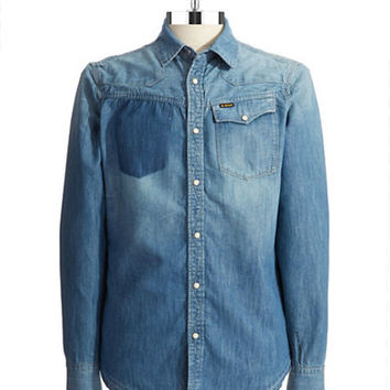 G-Star Raw Denim Sports Shirt