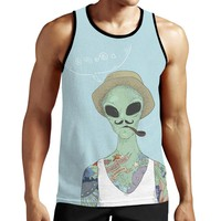 Alien Smoking Tank Top