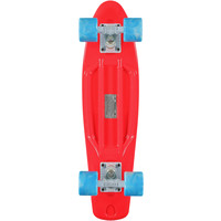 Stereo Vinyl Cruiser Red & Blue Complete Cruiser Board at Zumiez : PDP