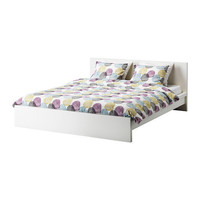MALM Bed frame - white, Full - IKEA