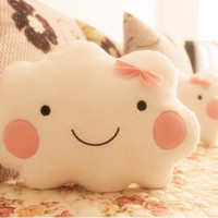 Style Smiling Emoji Cushions Plush Toy Doll  Decorative Pillows
