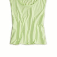 AEO Women's Cutoff Crop Tank