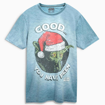 CHRISTMAS GIFT for him Star Wars™ Yoda Christmas T-Shirt men's clothing men's fashion Tshirt Top Shirt gift for him birthday gift for him