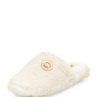 Jet Set Furry Slipper, Off White - MICHAEL Michael Kors - Off white