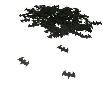 Paper bats Paper bat confetti Bat party decors Bat die cuts Paper bat cutouts Bat scrapbooking Bat decoration Bat halloween decor Tiny bats