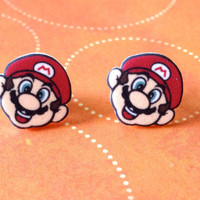 Mario Stud Earrings