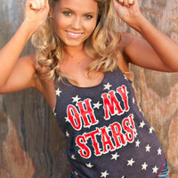 OH MY STARS TANK BY ATX
