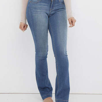 HANDLE WITH FLARE DENIM JEAN