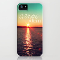 carpe diem iPhone Case by Sylvia Cook Photography