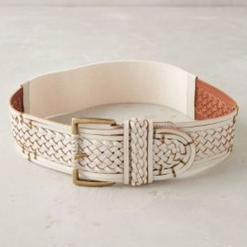 Arbour Belt by Anthropologie in Ivory Size: