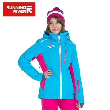 Winter Professional Ski Jacket High Quality Woman Ourtdoor Sports Cloth Functional Ski Jackets