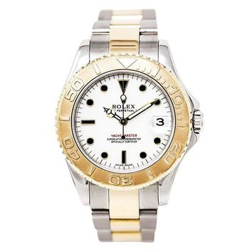 GNETOW Rolex Yacht-Master automatic-self-wind womens Watch 168623 (Certified Pre-owned)