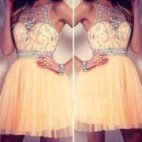 Short Prom Dress,Mini Prom Dresses,Long Evening Dresses