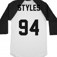 Harry Styles Jersey-Unisex White/Black T-Shirt
