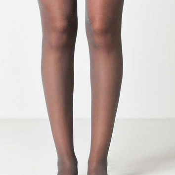 Out From Under Sparkle Sheer Tight   Urban Outfitters