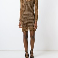 Balmain Open Knit Dress - Eraldo - Farfetch.com