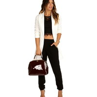 Sale-ivory Sleek Midi Blazer