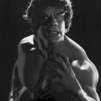 Incredible Hulk poster Metal Sign Wall Art 8in x 12in Black and White