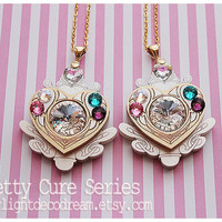 Jeweled Cure Module Necklace Suite Pretty Cure Inspired for Magical Girl Shoujo & Mahou Kei Fashion