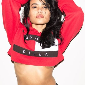 Fashion Killa Crop Hoodie